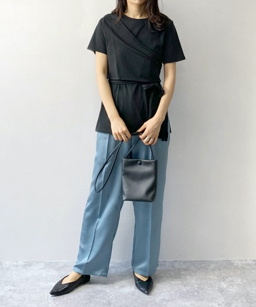 [Lian] ビスチェドッキングTシャツ