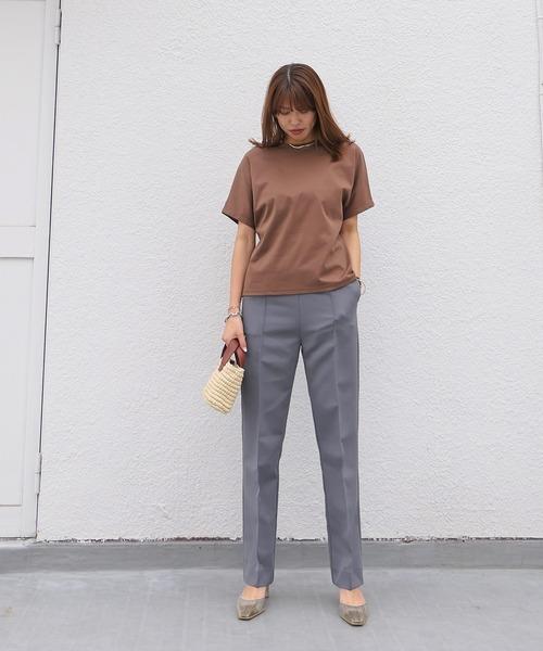 [AKTE] ハイゲージスムースTシャツ