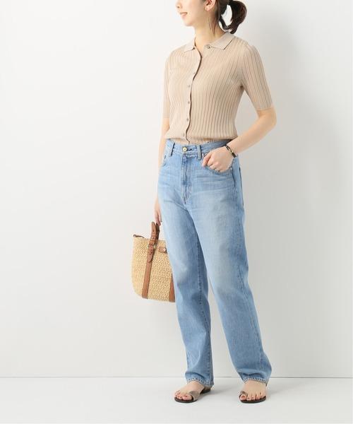ポロシャツカーディガン