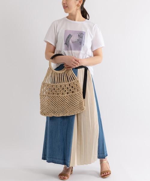 [Paradise Picnic] 【KATHARINE ROSS】ジュートマクラメ編みメッシュバッグ