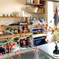 狭くても、居心地よく。大好きなキッチンが中心の、あたたかな暮らし