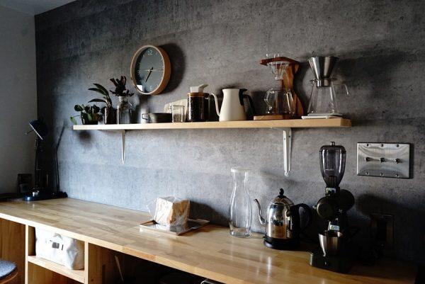 キッチン背面 収納2
