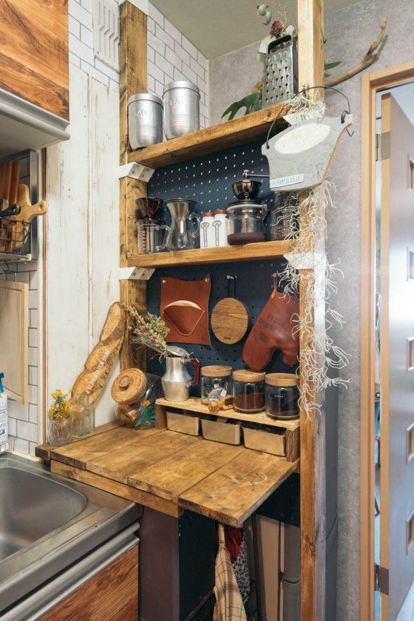 冷蔵庫スペースと仕切る23