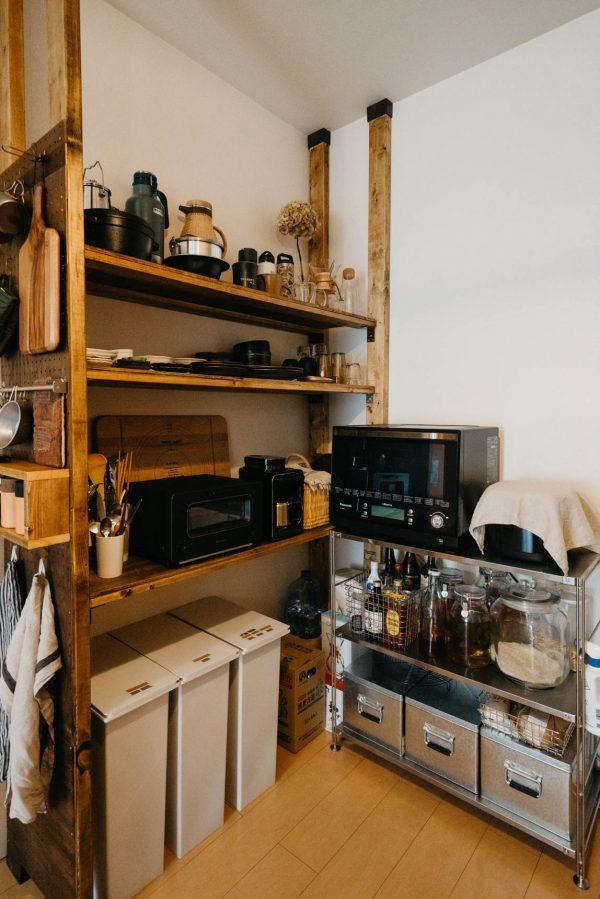 ぴったりサイズの食器棚をつくる