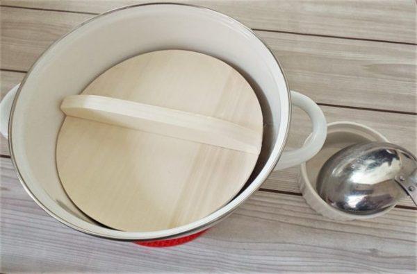 100均の鍋蓋11
