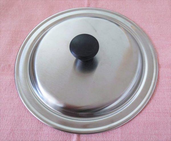100均の鍋蓋4