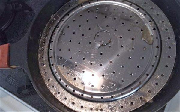 100均の鍋蓋9