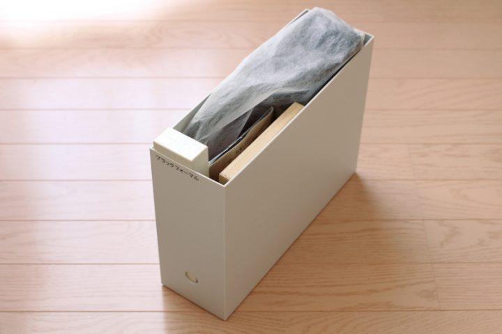 フォーマル小物はファイルボックスにまとめて1
