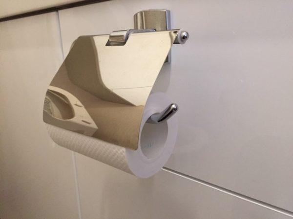 トイレットペーパーが使える!