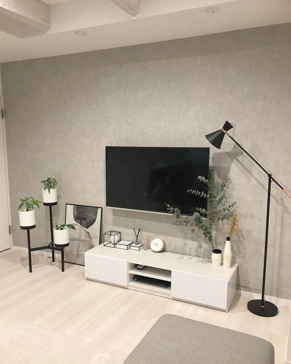 テレビ周り おしゃれ インテリア7