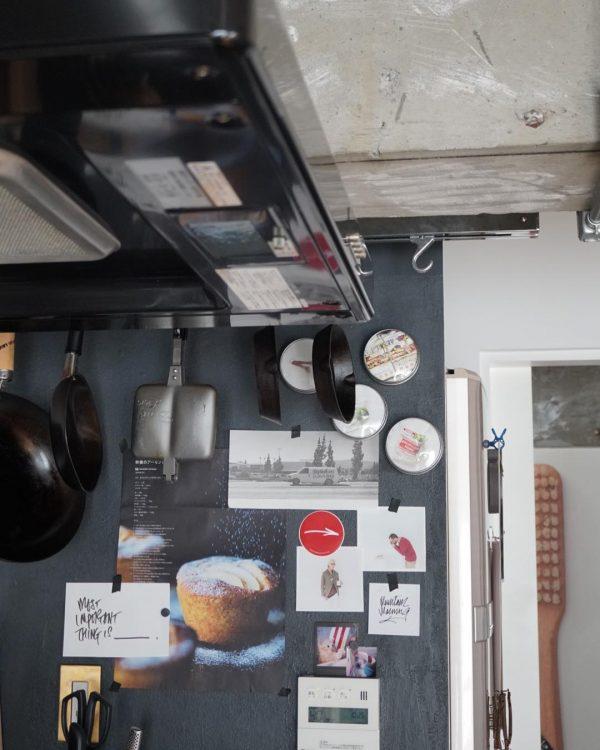 キッチン壁のお洒落なデコレーション