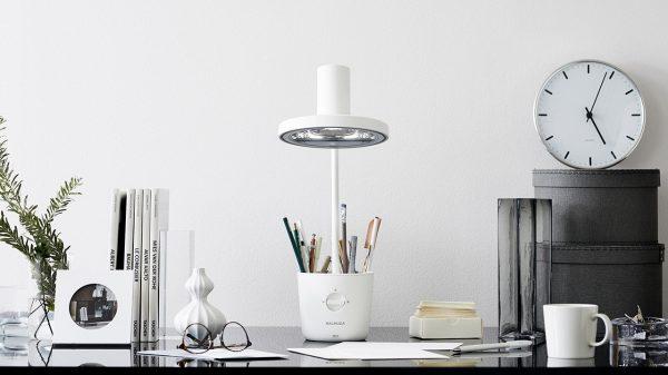 収納と一体化した便利なライト