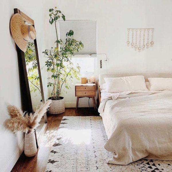 風水では清潔な寝室にいい気が巡る