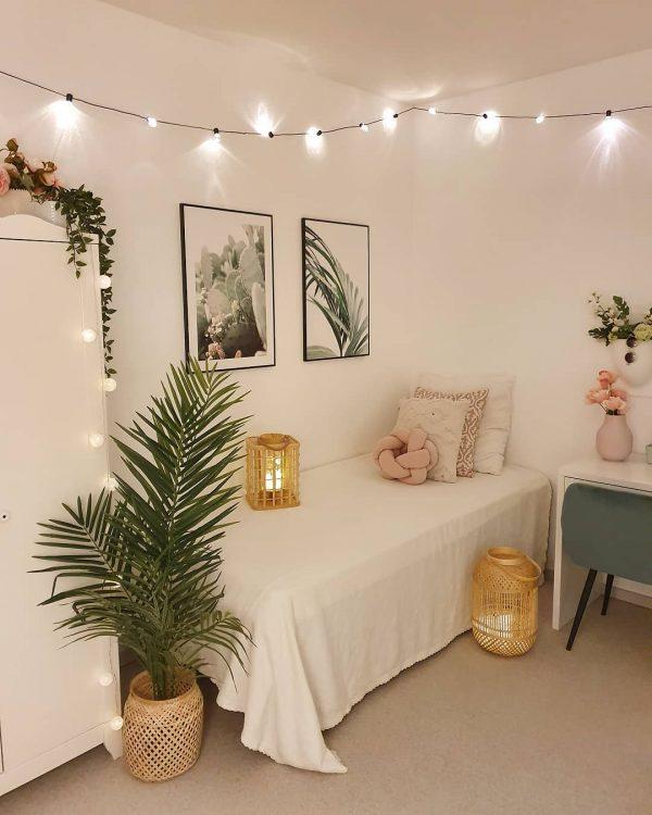 照明が可愛い一人暮らし部屋