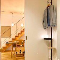 突っ張り棒で玄関の収納力UP!おしゃれですっきりする活用アイデア実例集