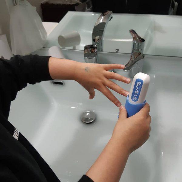 手洗いスタンプを使おう!