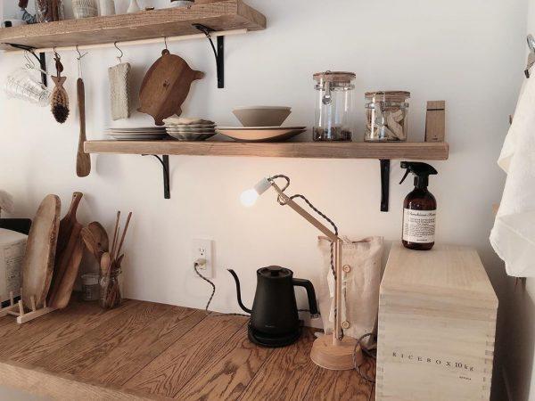 キッチン背面 収納