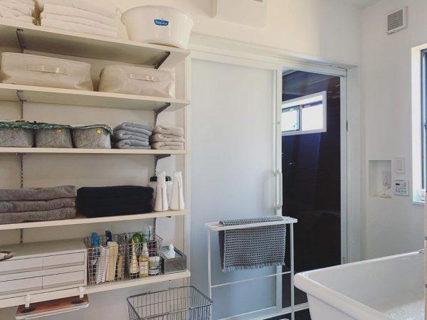 洗面所で使えるIKEAのフェルト製ケース