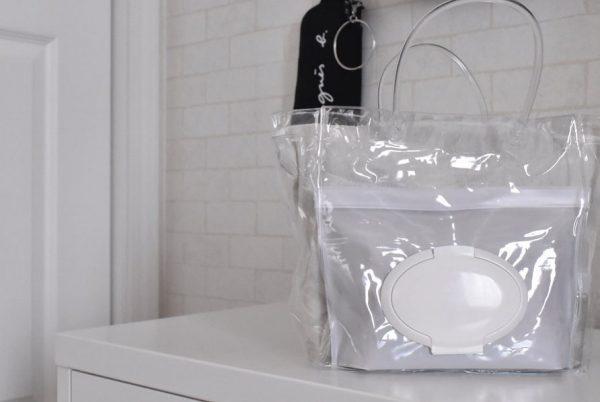 家でも外でも使えるオムツバッグ
