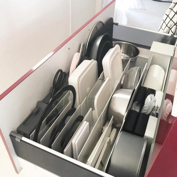 キッチン 立てる収納3