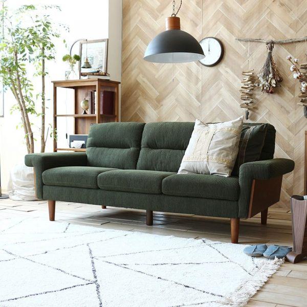緑色で居心地の良いお部屋を作る