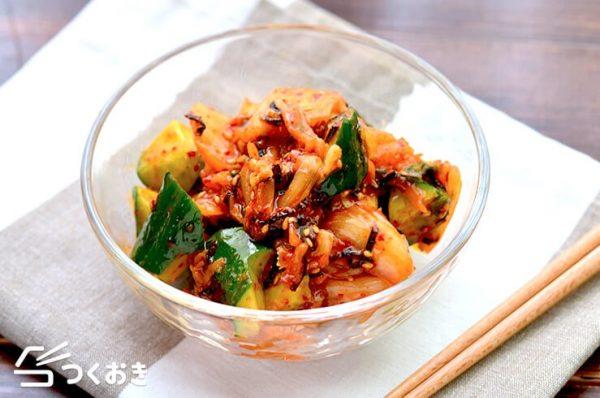 キムチの大量消費☆人気レシピ《副菜》5