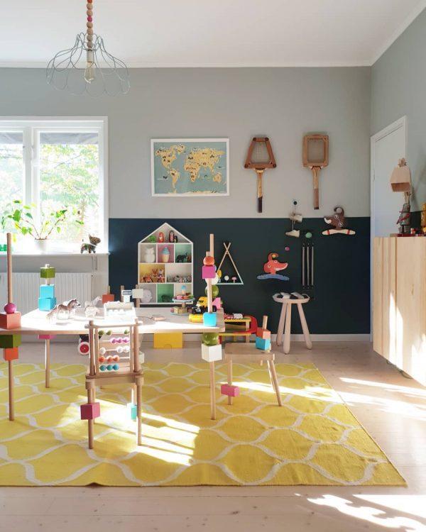 遊び心ある家具もポイントのキッズルーム