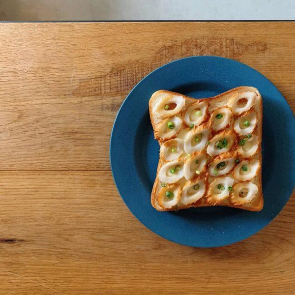 トースト アレンジ 和風ちくわトースト