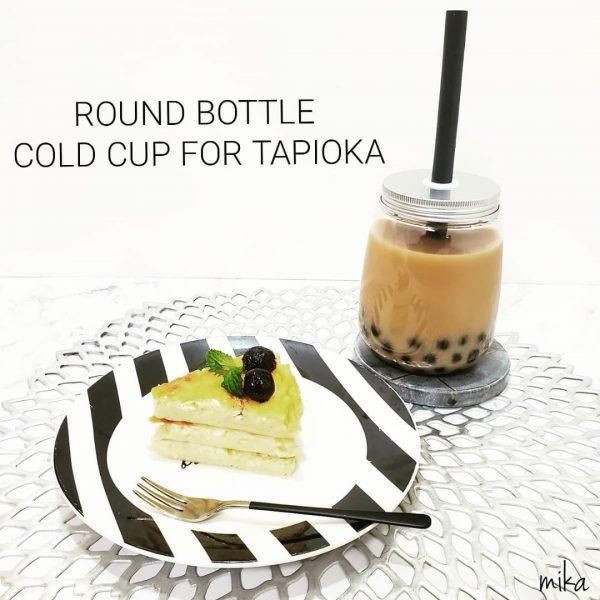 おうちカフェ風のドリンクボトルを活用