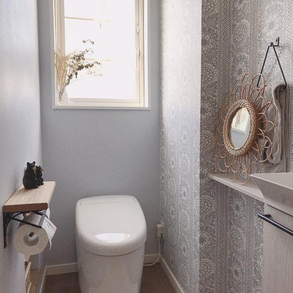 トイレのアクセントクロス実例dd