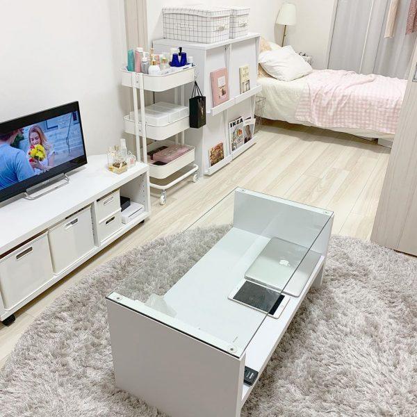 清潔感のあるお部屋