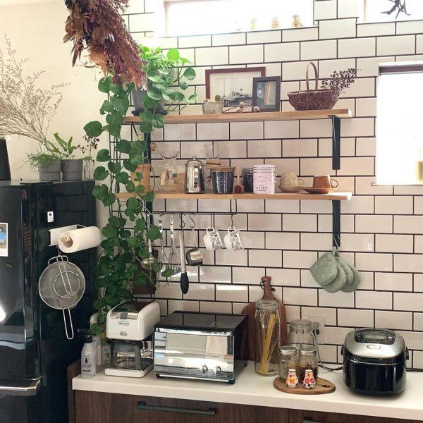 キッチン背面 収納4