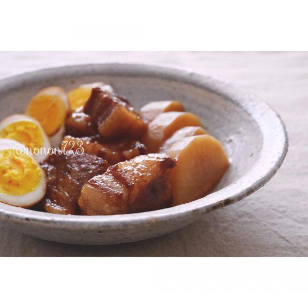 ゆで豚の角煮