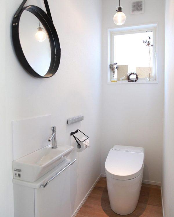 THEシンプルなトイレ