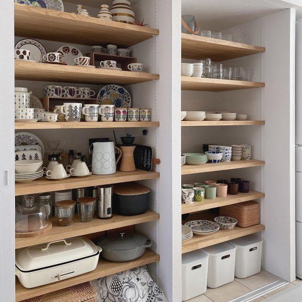 キッチン背面 収納15