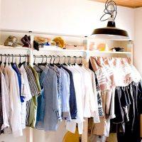 おしゃれなクローゼットならコーデが即決まる♡素敵な衣類収納15選
