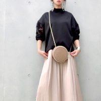 【GU】のスカートで春コーデを彩って♪お手本コーデをご紹介