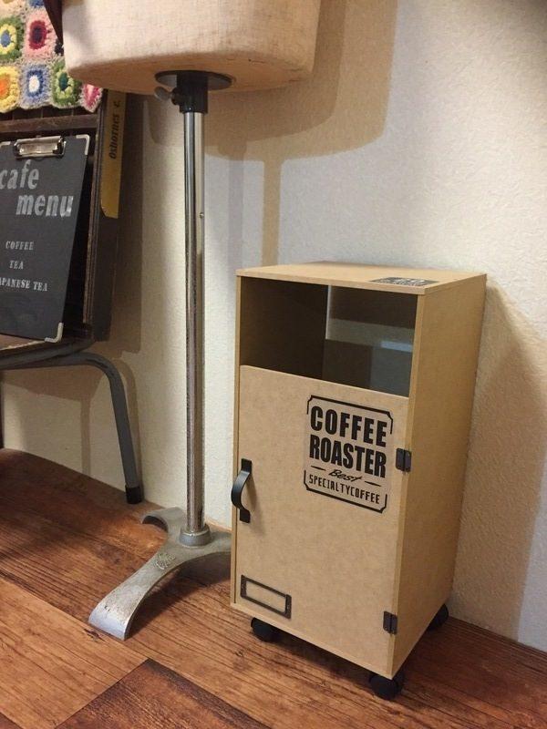 100均のMDF材で作ったゴミ箱