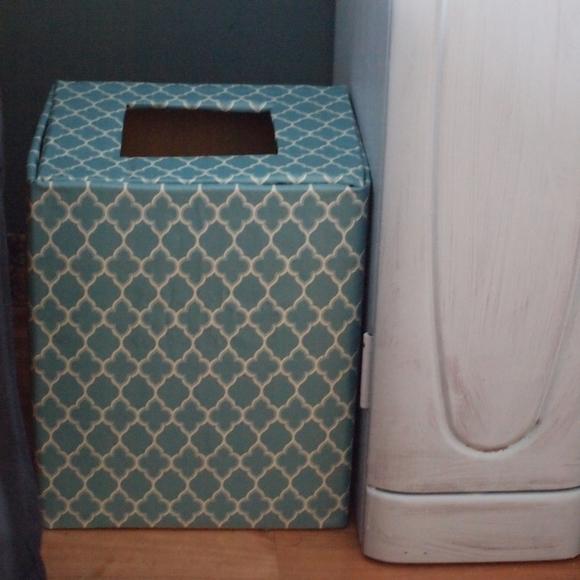空き箱で作るゴミ箱