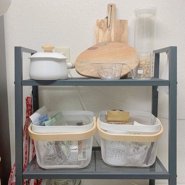 お洒落で実用的なシェルフ&キッチンウェア