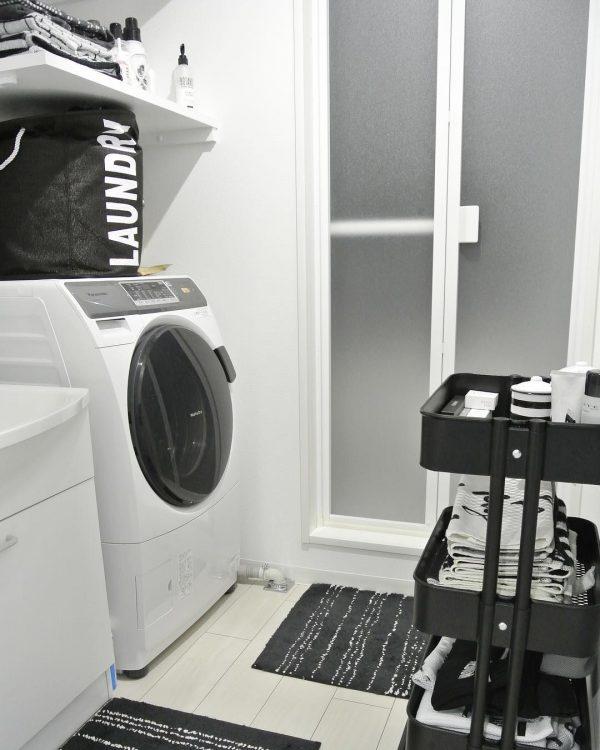 洗面所で便利なIKEAの人気ワゴン