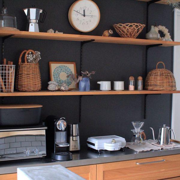 キッチン背面 収納10