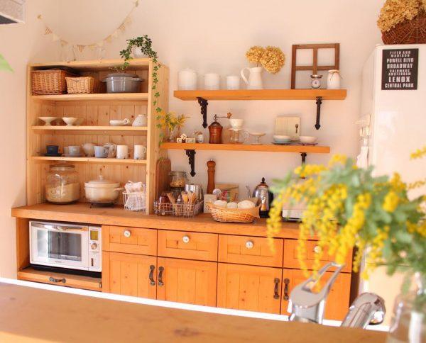 キッチン背面 収納5