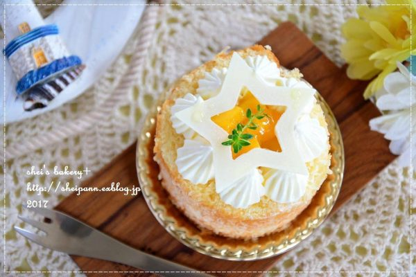 マンゴーココケーキ