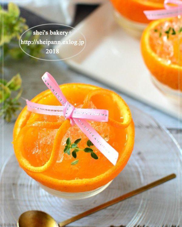 オレンジの人気料理レシピ《ひんやりスイーツ》3