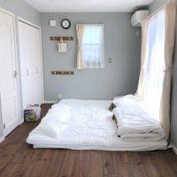コーディネートの参考に♪ナチュラルテイストの寝室インテリア実例