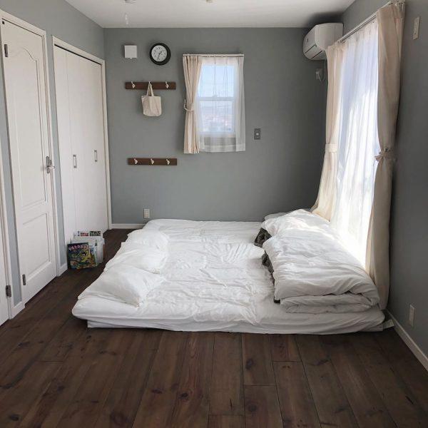 お布団でもおしゃれな寝室
