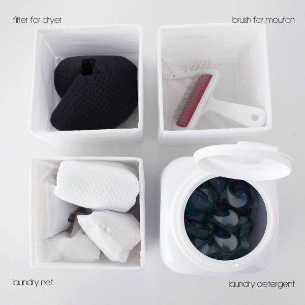 洗面所で使えるIKEAの不織布ケース