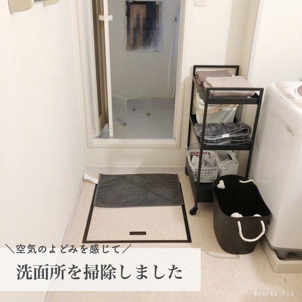 洗面所で便利なIKEAのクールワゴン