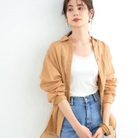 品が良くて色っぽい旬アイテム♡シアーシャツの春スタイル15選